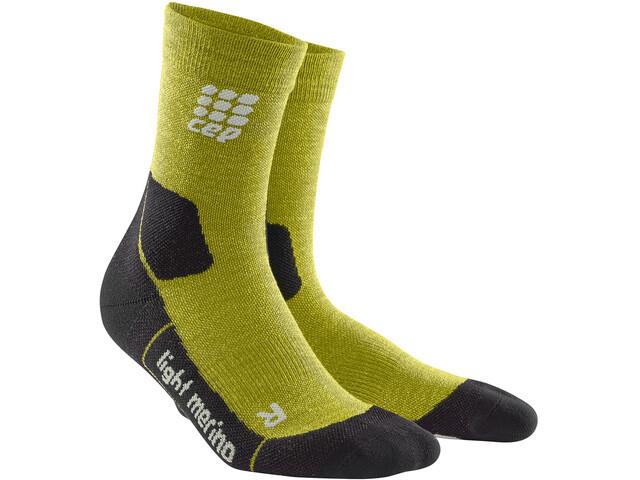 cep Dynamic+ Light Merino - Chaussettes Homme - jaune noir sur CAMPZ ! eab47468993